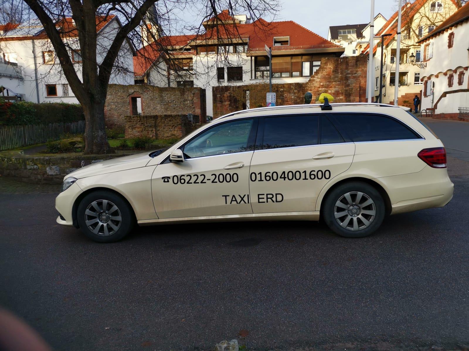 Taxi-Erd in Wiesloch
